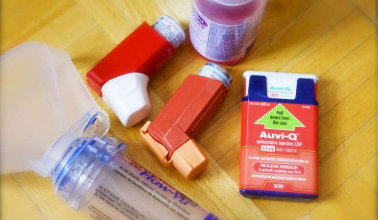 meds for food allergy and asthma